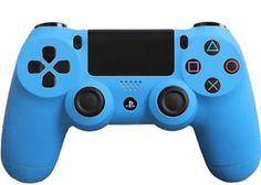 Matte-Blue-Custom-PS4-Controller-Brand-New-Controller
