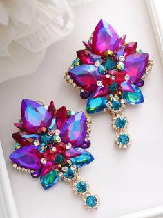 Hair Jewelry, Jewlery, Crystal Earrings, Stud Earrings, Korean Accessories, Tree Necklace, Soutache Jewelry, Fantasy Jewelry, Jewelries