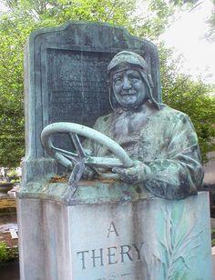 What an interesting headstone. Pere Lachaise, Paris