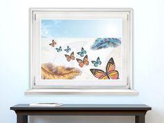 Verschönern Sie Glasflächen von Fenstern, Glastüren, Raumteilern und Schaufenstern.   #Glasaufkleber #Fensterfolie #Sichtschutzaufkleber