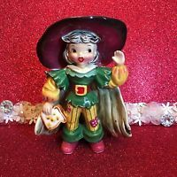 Vtg Napco Little Tommy Tucker Sang For Supper Boy Nursery Rhyme Figurine Japan