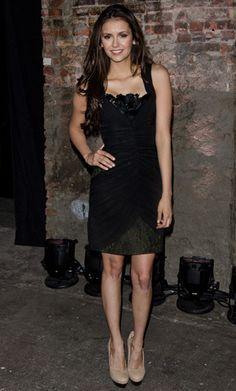 Celebrity Fashion Nina Dobrev