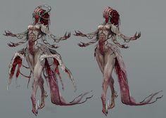 Flesh lady by Kiguri