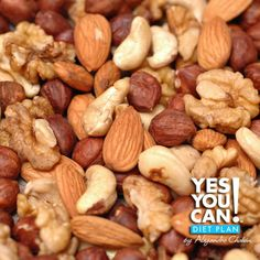 Mixed Nuts - A healthy option for your Yes You Can! Diet Plan snack