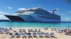 Ship on Carnival Conquest Cruise
