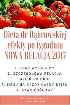 Dieta dr Dąbrowskiej – efekty po tygodniu – NOWOŚĆ relacja z drugiego postu, który rozpoczełam w kwietniu 2017. Więcej informacji znajdziesz na www.mojaewolucja.pl