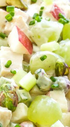 Healthy Grilled Chicken Waldorf Salad
