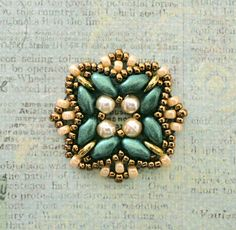 Linda's Crafty Inspirations: Playing with my beads...more Rani samples