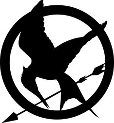 How to draw the Mockingjay logo from Hunger Games