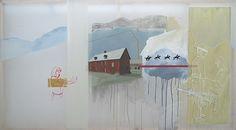 Joshua Field Cultural Identity, Artist Painting, Art Inspo, Amazing Art, Collage, Concept, Culture, Models, Landscape
