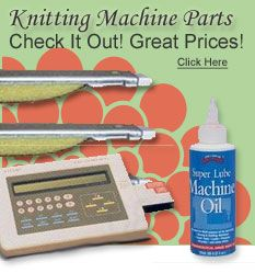 Knitting Supplies, Machine Parts, Knit Kits, and Handmade Crafting Shop