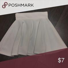 White tennis skirt Circle tennis skirt Skirts Mini