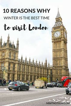 Visiting London in the winter on a budget. London travel tips for budget travelers.