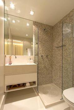 43 Backsplash Decoration Trending Now - Home Decoration Experts - Bathroom Ideas Bathroom Design Small, Bathroom Layout, Bathroom Interior, Modern Bathroom, New Interior Design, Dream Bathrooms, Home Decor Trends, Backsplash, House Design