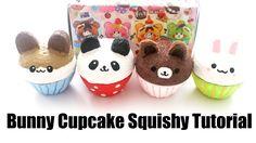 DIY Homemade Bunny Cupcake Squishy Tutorial - How To