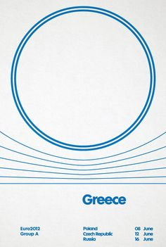 From a series of Euro 2012 posters by David Watson