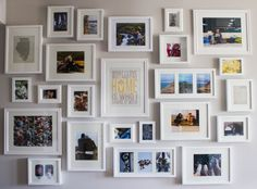 DIY Photo Wall: http://www.chicagosignatureproperties.com/blog/design-diy-photo-wall/