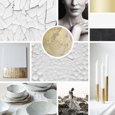 Moodboard, Branding, Logo, Design, Ontwerp, Color Inspiration, Gold, Black & White