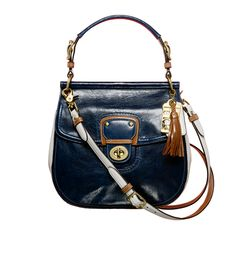 LEATHER COLORBLOCK NEW WILLIS by Coach. LOVE the tassel