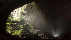 Fotos espetaculares da maior caverna do mundo fazem humanos parecerem minúsculos: a enorme caverna S... - Divulgação
