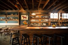 Old Salt Marketplace, the chophouse, brunch destination, bar, butcher's shop and occasional cooking school on Northeast 42nd Avenue, is an exercise in vertical integration.
