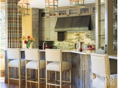 Vail Mountain Bachelor Condo - contemporary - kitchen - denver - Bardes Interiors light fixtures, cabinets, vent hood, wood under counter Beautiful Kitchens, House, Home, Contemporary Kitchen, Farmhouse Kitchen Lighting, New Homes, Home Kitchens, Modern Farmhouse Kitchens, Kitchen Design