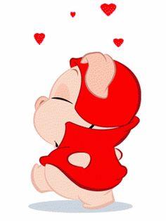 Animados de amor simpáticos. Imágenes bonitas de Amor gif como estos animados de amor simpáticos que podrás enviar gratis online. Enviar postales online de Amor gratis. Prueba a enviar postales onl...