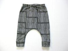 Black Roman Organic Baby HAREM Skinnies Size 6m to by carlymegan, $38.00