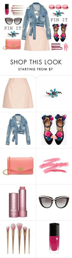 """A Little Less Conversation..."" by anna-karenina-1812 ❤ liked on Polyvore featuring River Island, Sorrelli, Jonathan Simkhai, Mulberry, Anna-Karin Karlsson and pins"