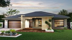 The Lancaster - the Abode Collection. This regal abode awaits you with its effortless style and executive features. Immerse yourself in elegant living. #weeksbuilding #home #house #facade #design