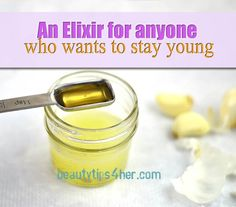 An Elixir For Anyone Who Wants to Slow Down the Aging Process Using a Simple Recipe | DIY Beauty Skincare and Health Tips