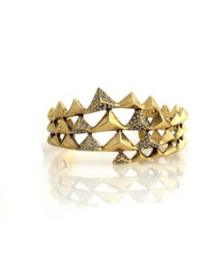 House of Harlow 1960 Jewelry Pyramid Wrap Cuff $125