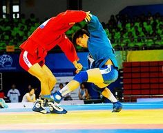 """Sambo is a Russian martial art and combat sport. The word """"SAMBO"""" is an acronym for SAMozashchita Bez Oruzhiya, which literally translates as """"self-defense without weapons"""". Sambo is relatively modern since its development began in the early 1920s by the Soviet Red Army to improve their hand-to-hand combat abilities. Sambo has roots in Japanese judo. Download nextbelt on App Store and run your dojo on-the-go http://thenextbelt.com/fb.html"""