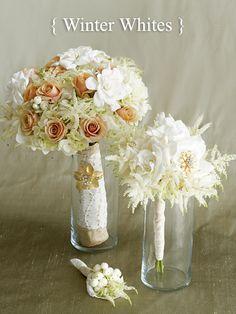 D Weddings : Creative Bridal Party Bouquets by Four Dallas Designers