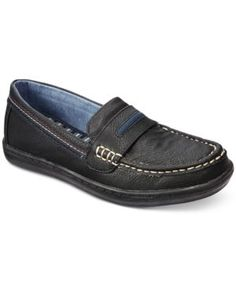 Tommy Hilfiger Boys' or Little Boys' Dylan Boat Shoes - Gray 2