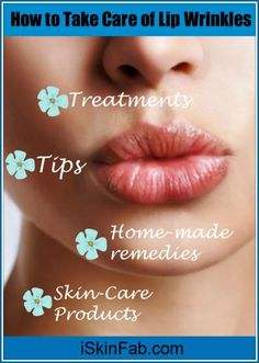 How to get rid of lines on your lips. Best way to remove upper lip wrinkles with. How to get rid of lines on your lips. Best way to remove upper lip wrinkles with beauty tips & treatments. Wrinkle Remedies, Skin Care Remedies, Natural Remedies, Lip Wrinkles, Prevent Wrinkles, How To Get Rid, How To Remove, Smokers Lines, Anti Aging