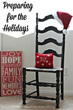 Preparing for the Holidays is easy with ideas from some of the best Organizing Bloggers