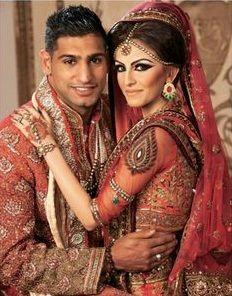 Amir Khan weds Faryal Makhdoom (Wedding Pictures)