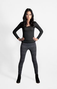 Constellation Leggings Coal  FEATURES   • Winter wardrobe essential   • Designed and made in Melbourne   • Screen printed by hand using techniques that enhance the irregularity and personality of each print   • Warm high-quality made in Australia fabric