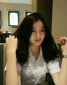 Hi kenalan dulu yuk : Beautiful Hijab, Beautiful Asian Girls, Ulzzang Korean Girl, Indonesian Girls, Asia Girl, Photography Women, Asian Beauty, Cute Girls, My Girl