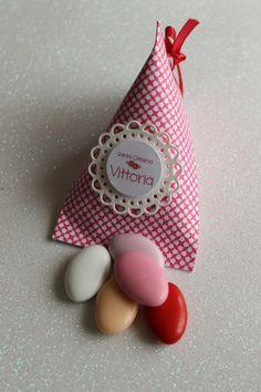 scatolina porta confetti personalizzabile Favor boxes Boite a dragee Berlingot Nascita Battesimo Comunione Cresima bambina di PickaPack su Etsy