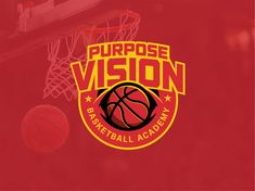 Purpose Vision Basketball Academy - Logo Badge designed by Yansuari Shakti. Connect with them on Dribbble; the global community for designers and creative professionals. Basketball Academy, Academy Logo, Badge Design, Purpose