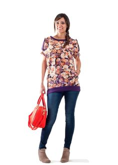 Day Tripper Top | The best sewing patterns for women, girls, toys and more. Go To Patterns & Co.