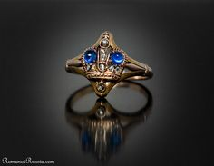 Royal Rings Russian Imperial CROWN Jeweled by RomanovRussiacom