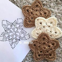 Marvelous Image of Free Crochet Star Pattern Free Crochet Star Pattern Pin Ba To Boomer Lifestyle On Crafts Crochet Knitting Both Czekają na Ciebie nowe Piny: 18 - Poczta Crochet Easy Bunny Applique (for beginners) - Salvabrani Crochet snowflakes White w Crochet Diy, Crochet Motif, Crochet Crafts, Crochet Doilies, Crochet Flowers, Crochet Projects, Crochet Ideas, Crochet Santa, Crochet Star Patterns
