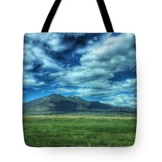 North Of Taos Tote Bag featuring the photograph North Of Taos, New Mexico Mountains by Debra Martz