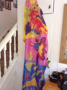 Silk flag