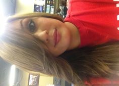 Swoop bangs and long layers by Stephanie.
