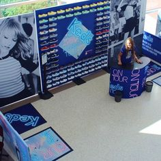 The Keds booth at the 1989 shows are probably just the best thing ever!!!