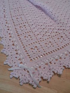 """Crochet Baby Blanket Soft Blue """"* just finished and it is so pretty! Ravelry: Project Gallery for Sweet Dreams pattern by Terry Kimbrough. Crochet Afghans, Crochet Baby Blanket Borders, Crochet Baby Blanket Tutorial, Crochet Baby Shawl, Baby Afghan Patterns, Manta Crochet, Baby Afghans, Crochet Blanket Patterns, Baby Knitting"""